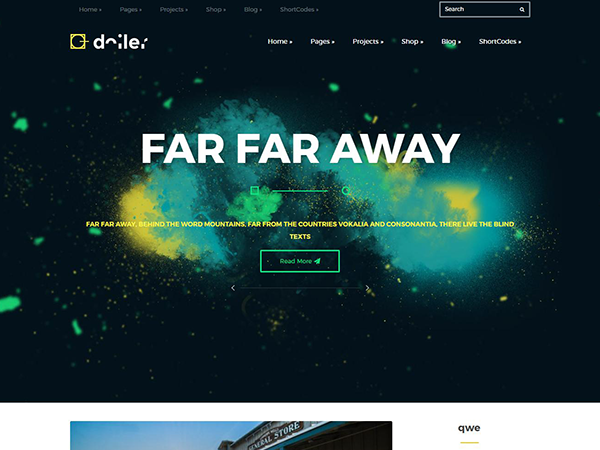 Doiler Free WordPress Theme