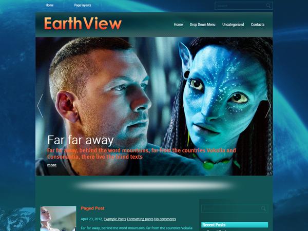 EarthView Free WordPress Theme