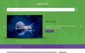 EcoPlanet Free WordPress Theme