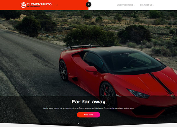 ElementAuto Free WordPress Theme