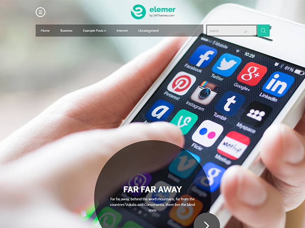 Elemer WordPress Theme