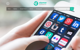 Elemer Free WordPress Theme