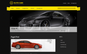 EliteCars Free WordPress Theme