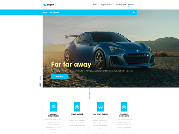 Engine WordPress Theme