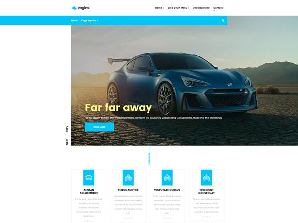 Engine Free WordPress Theme