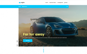 Engine Free WordPress Theme