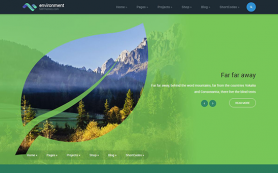Environment Free WordPress Theme