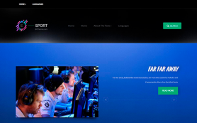 ESport Free WordPress Theme