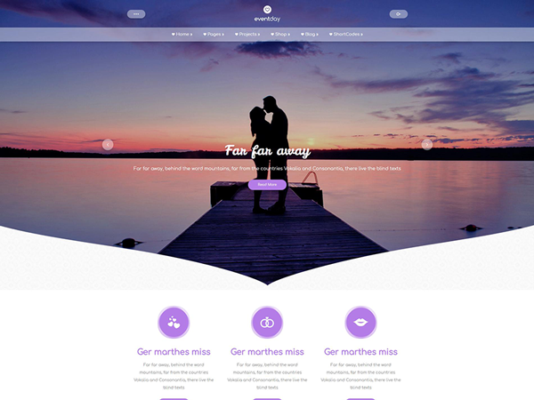 EventDay Free WordPress Theme