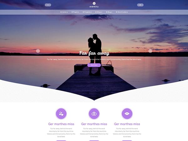 EventDay WordPress Theme