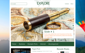 Explore Free WordPress Theme