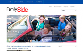 FamilySide Free WordPress Theme