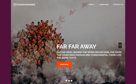 FashionWeek Free WordPress Theme