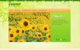 Fauner Free WordPress Theme