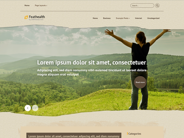 FeatHealth WordPress Theme