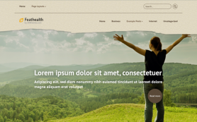 FeatHealth Free WordPress Theme