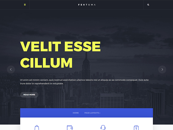 Fertuma Free WordPress Theme