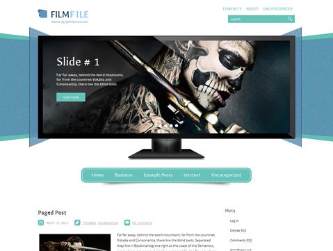 FilmFile WordPress Theme