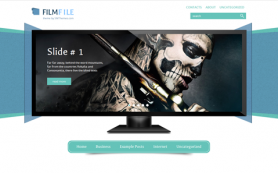 FilmFile Free WordPress Theme