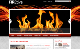 Firetive Free WordPress Theme
