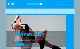 Fitik Free WordPress Theme