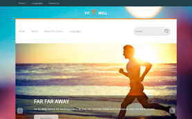 FitWell Free WordPress Theme