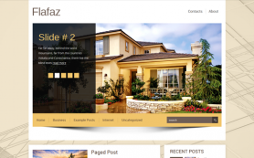 Flafaz Free WordPress Theme