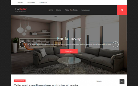 FlatDecor Free WordPress Theme