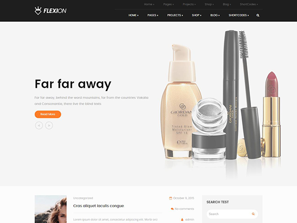 Flexion Free WordPress Theme