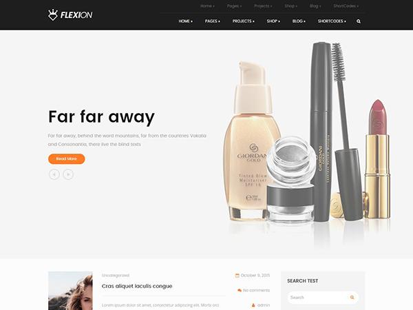 Flexion Free WordPress Theme