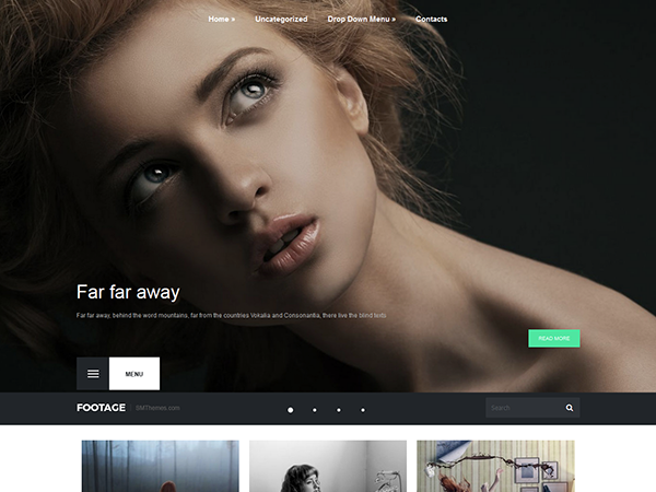 Footage WordPress Theme