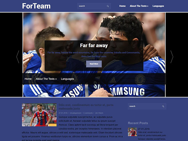 ForTeam WordPress Theme