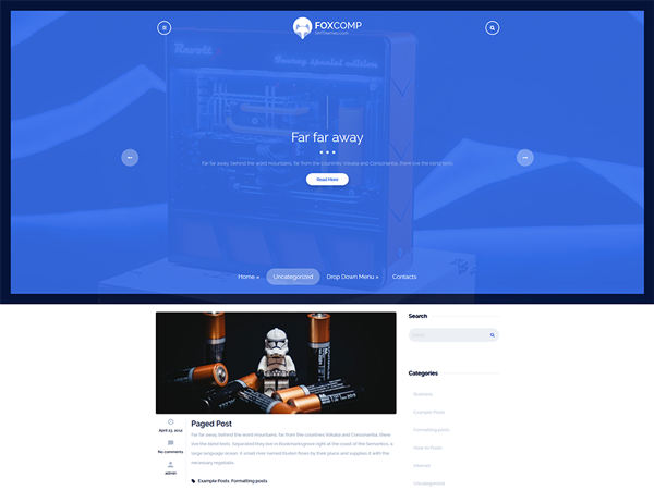FoxComp WordPress Theme