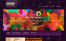 Fryder Free WordPress Theme