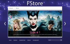 FStore Free WordPress Theme