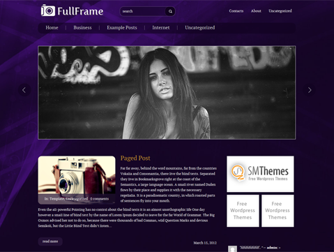 FullFrame WordPress Theme