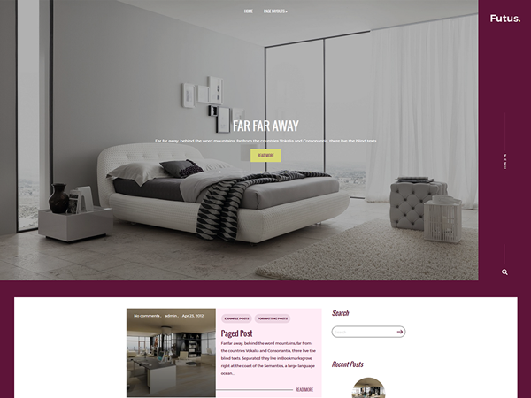 Futus WordPress Theme
