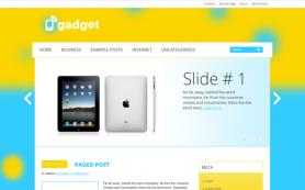 Gadget Free WordPress Theme