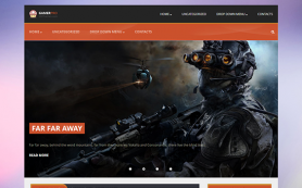 GamerPro Free WordPress Theme