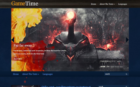 GameTime Free WordPress Theme