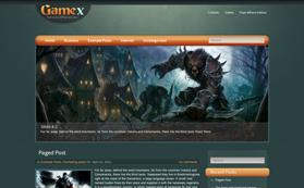 GameX Free WordPress Theme