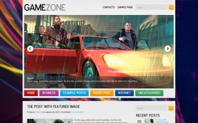 GameZone Free WordPress Theme
