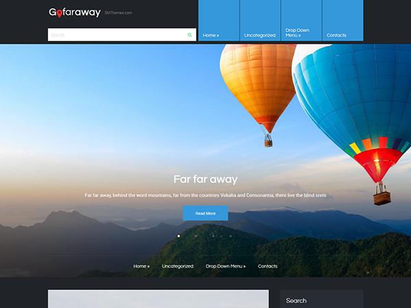 GoFarAway Free WordPress Theme