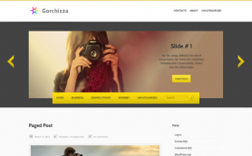 Gorchizza Free WordPress Theme