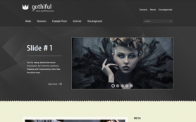 Gothiful Free WordPress Theme