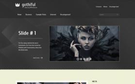 Gothiful Free WordPress Theme