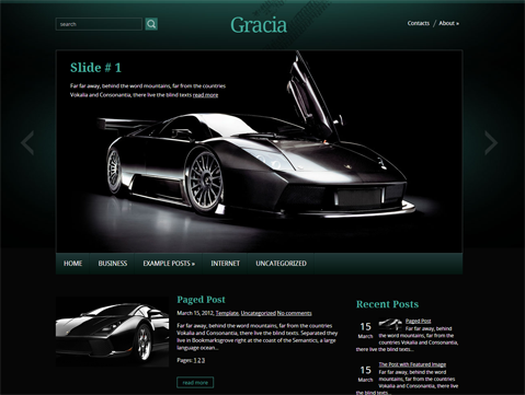 Gracia Free WordPress Theme