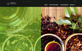 GreenTea Free WordPress Theme