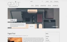 Grot Free WordPress Theme