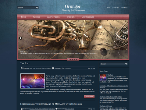 Grunger WordPress Theme